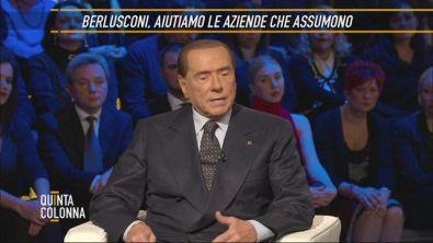 Silvio Berlusconi: povertà e disoccupazione