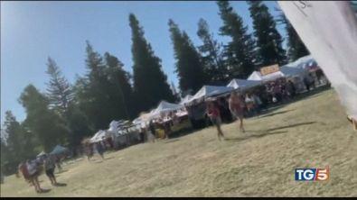 Sparatoria al Festival è strage in California