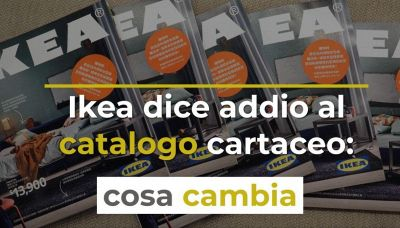 Ikea dice addio al catalogo cartaceo: cosa cambia