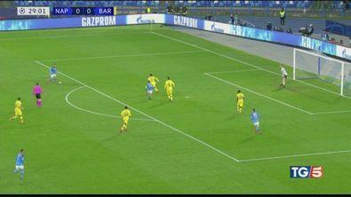 Napoli, stop a Messi e stasera Juve-Lione