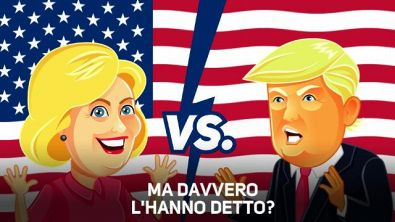 Hillary vs Trump in TV, i 5 momenti più chiacchierati