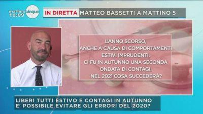 Matteo Bassetti risponde alle vostre domande