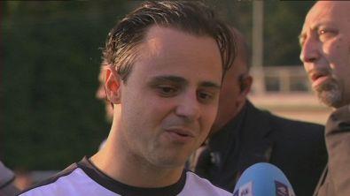 """Massa: """"Che bello giocare con Totti!"""""""