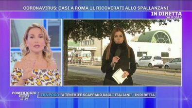 Emergenza Coronavirus: casi a Roma, 11 ricoverati allo Spallanzani