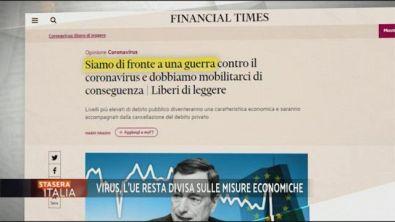 Covid-19: il rapporto tra l'Europa e Mario Draghi
