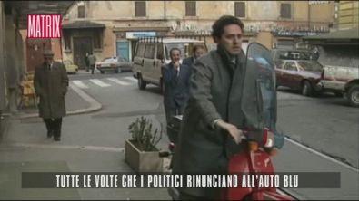 Tutte le volte che i politici rinunciano all'auto blu