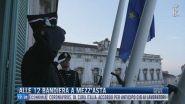 Breaking News delle 12.00 | Alle 12 bandiera a mezz'asta