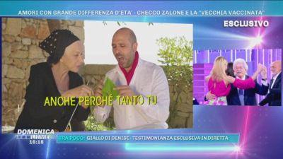 """Amori con grande differenza d'età -Checco Zalone e la """"vecchia vaccinata"""""""