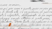 La lettera di Massimo Bossetti
