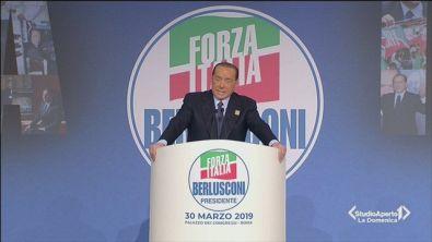Elezioni europee: Berlusconi ufficializza la candidatura