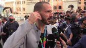 """Bonucci: """"Ritorno in hotel con un pullman scoperto, lo dovevamo ai tifosi"""""""