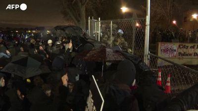 Minneapolis, scontri nella quarta notte di proteste per l'omicidio di Daunte Wright