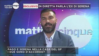 GFVIP: In diretta parla l'ex di Serena