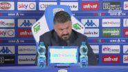 """Napoli, Gattuso: """"Volevo vedere questo, una squadra che sa lottare"""""""