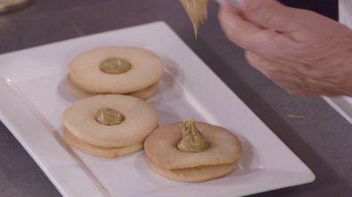 Occhietti di bue al pistacchio