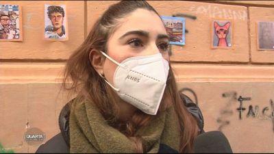 Covid e scuola: gli studenti protestano in piazza