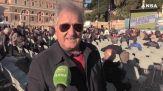 Roma, in tanti in piazza del Popolo per Roberto Gualtieri: 'e' l'uomo giusto'
