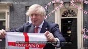 """Europei, Johnson: """"Buona fortuna all'Inghilterra. Portate la coppa a casa"""""""