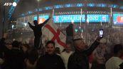 Europei, fuochi d'artificio e cori: i tifosi inglesi festeggiano la vittoria