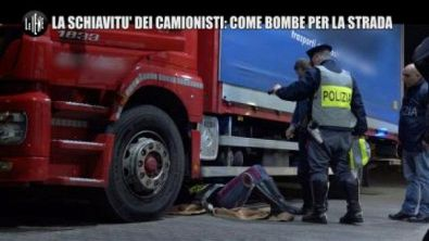 PELAZZA: La schiavitù dei camionisti: come bombe per la strada