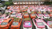 A Bangkok i tetti e i cofani dei taxi diventano orti