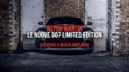 Aston Martin, le nuove 007 limited edition