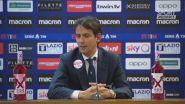 """Lazio,""""Inzaghi. """"Abbiamo meritato la vittoria contro una grande squadra"""""""