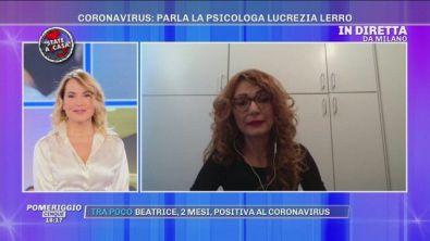 Coronavirus: parla la psicologa Lucrezia Lerro