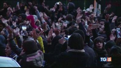 In Iran le proteste contro Alì Khamenei