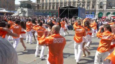 Il flashmob firmato Premium Sport