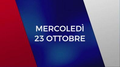 Stasera in Tv sulle reti Mediaset, 23 ottobre