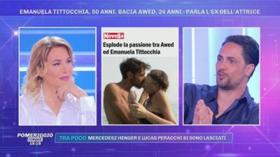 Emanuela Tittocchia bacia Awed - Parla l'ex Biagio D'Anelli