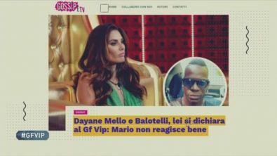 Cosa ha detto Mario Balotelli su Dayane Mello