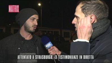 Attentato a Strasburgo: le testimonianze in diretta