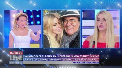 L'annuncio di Albano: io e Loredana di nuovo innamorati