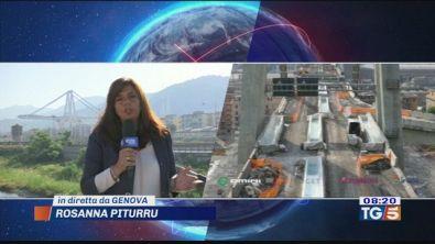 Ponte Morandi di Genova demolizione definitiva