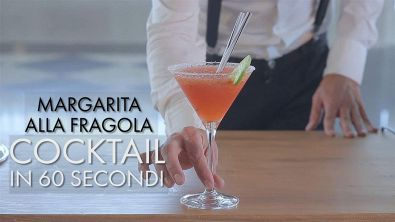 Cocktail in 60 secondi: Margarita alla fragola