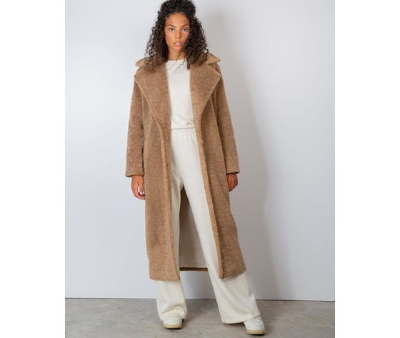 Cappotto donna cammello face to face trudy art. 313 ca