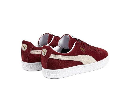 Sneakers puma suede classic cabernet white 47661 674 3