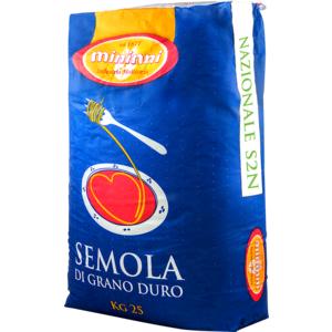 Semola di grano duro 100% ITALIANO - S2N - Sacco kg. 25