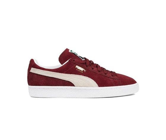 Sneakers puma suede classic cabernet white 47661 674 1
