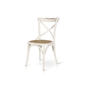 LAVINIA - Sedia in legno con sedile in paglia di Vienna