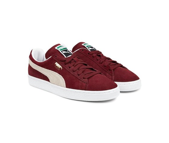 Sneakers puma suede classic cabernet white 47661 674 2