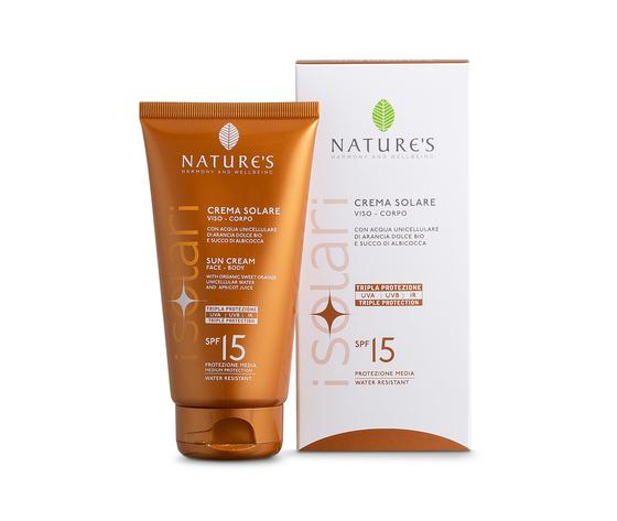 Crema solare viso corpo spf 15